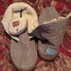 Toms Sherpa Lined Booties